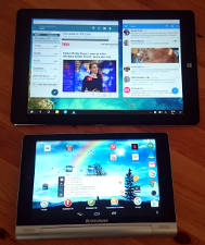 Chuwi Hi10 Plus Tablet über Lenovo Yoga 8